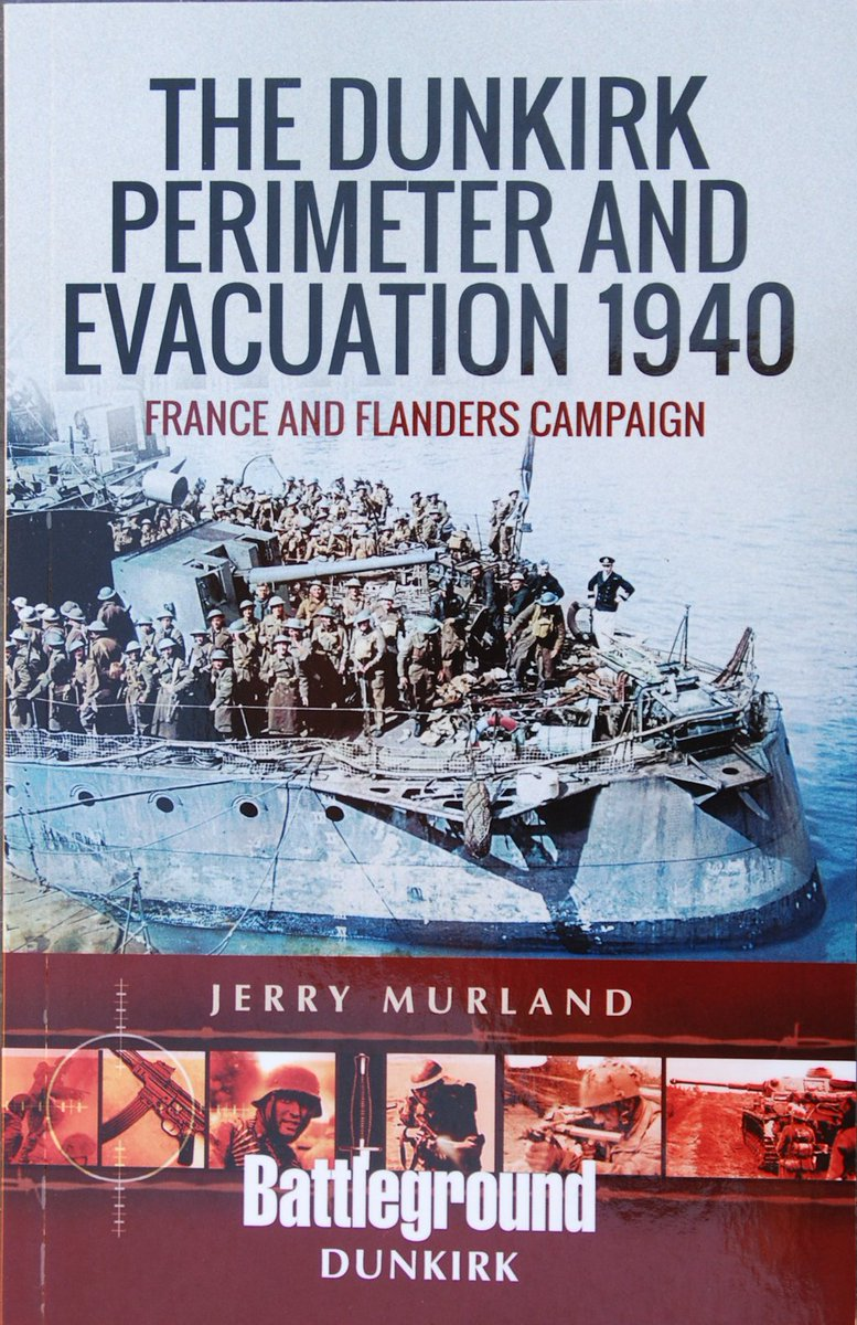 Today's new book review is for 'The Dunkirk Perimeter & Evacuation 1940', a Battleground guide from @penswordbooks History plus 3 tours guides. #WW2 #battlefieldguide #WW2history #WW2books #militaryhistory Read my review here -  https://www. militarymodelscene.com/battleground-d unkirk-perimeter-1940  … <br>http://pic.twitter.com/T263cHehN9