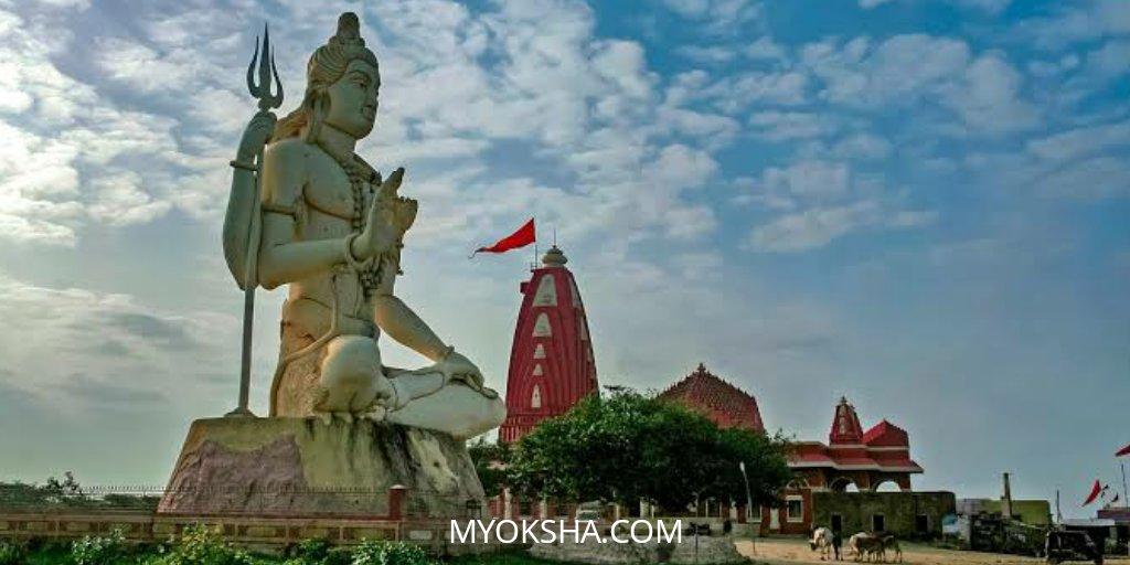 Nageshwar Temple lies on the coast of Saurashtra in Gujarat. It is dedicated toLord Shivaand is one of the12 Jyotirlinga Shrinesmentioned in Shiva Purana.  https://myoksha.com/nageshwar-temple/…  #shiva #shivling #nageshwar #temple #gujarat