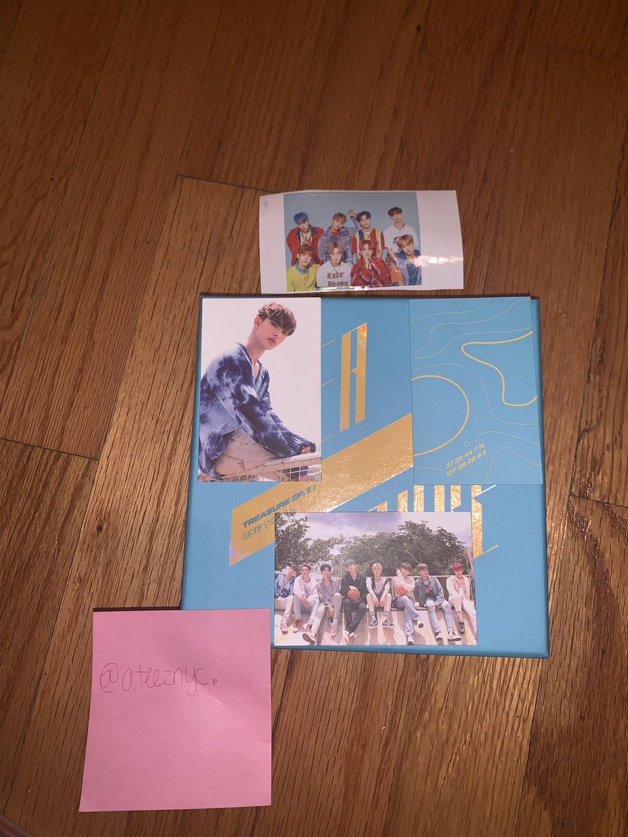 — TREASURE: ONE TO ALL WAVE VERSION GIVEAWAY —   How to Enter: Follow, RT & Reply with @ATEEZofficial to get them high on the Billboard Social Charts!   Deadline: August 9th 2019 *MINGI BIRTHDAY GIVEAWAY!*    #ATEEZ #OneToAll #One_To_All #Wave #Atiny #에이티즈pic.twitter.com/Ma3sRX4f42  by ATEEZ NYC