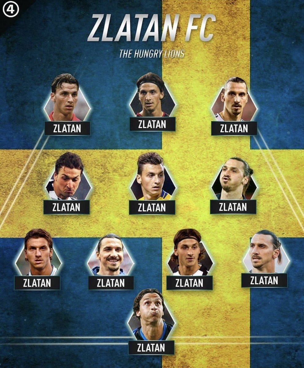 My favourite team of all time. I only have to decide the coach. Maybe will be Zlatan