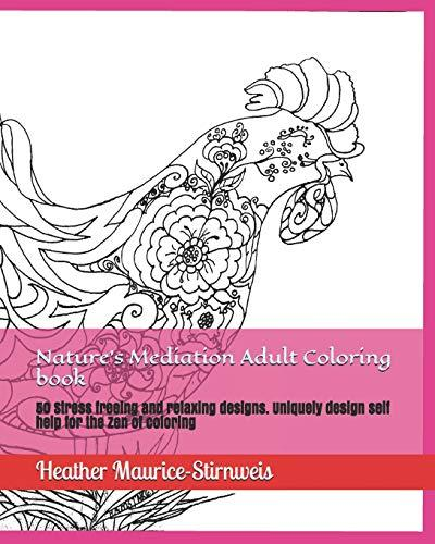 Download Pdf Nature S Mediation Adult Coloring Book 50 Stress