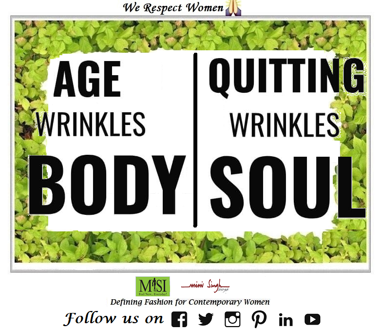 Getting #older wrinkles the #body, but loosing #hope and quitting #wrinkles the #soul. Good #Morning!! #Minisinghwishes #Minisinghmotivation #Minisinghinspiration #Minisinghoptimism #MinisinghPositivity #MinisinghThoughts
