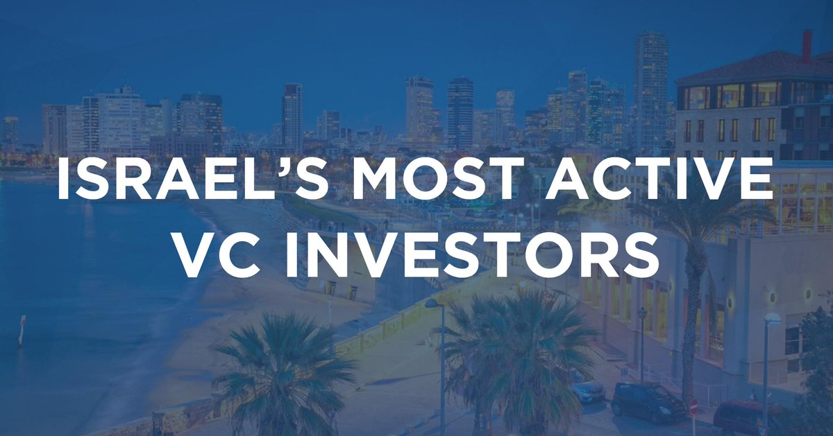 Here are Israel's most active VCs: 1. @OurCrowd 2. Altair Capital 3. @83NorthVC 4. @Pitango T-5. Magma Venture Partners T-5. @ViolaGroup 7. @iAngelsCrowd 8. @sequoia Israel 9. @JVPVC 10. @vertexventures 11. Pontifax VC  🔗 https://pitchb.co/RLcOb2 🔗