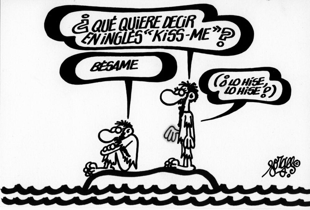 Viñeta publicada en Diario 16, en 1986