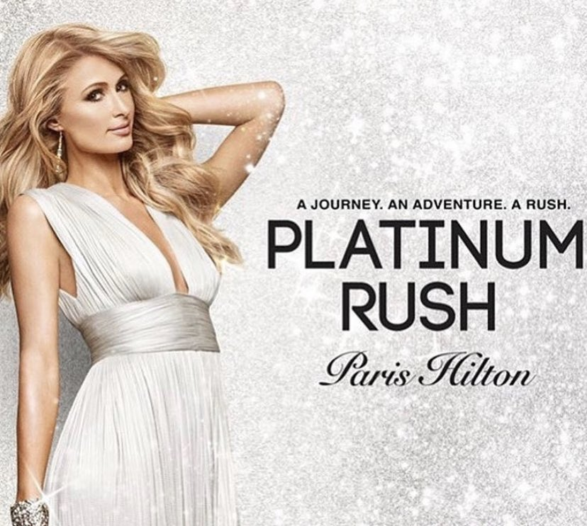 In love with my 24th fragrance #PlatinumRush 😍 Available at  ✨