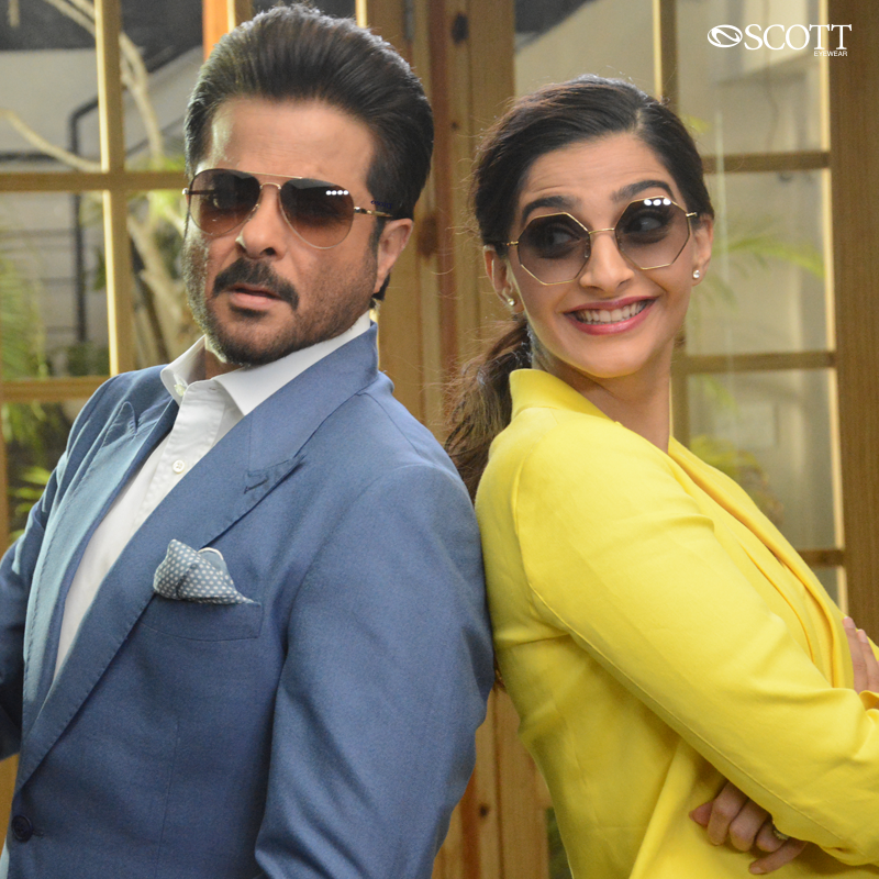 Starting from trendy shapes to lively colours, #ScottEyewearXAKSK sunglasses will help you carry the pop attitude!  #ScottSunnies #ISeeYou #Spotted #Scotted #SpotTheScott #BondOverScott #ScottTheSun #AnilKapoor #SonamKapoor