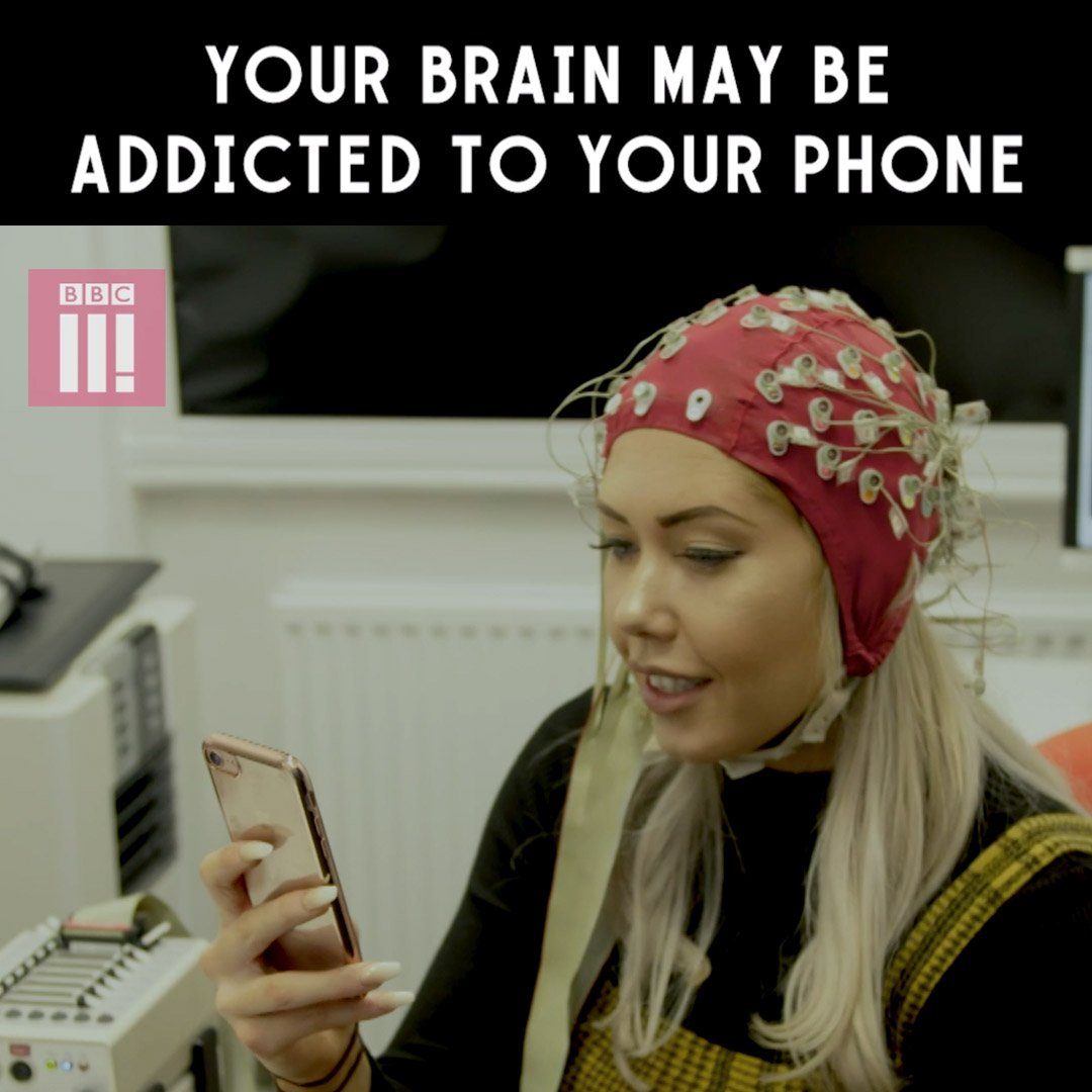 Ever wondered what goes on in your brain when you look at your phone? Hayley gets a chance to find out. 📱 #HayleyGoes Offline | Streaming now on @BBCThree.