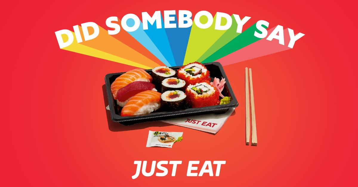 Just Eat Ireland On Twitter When Your Craving Sushi But