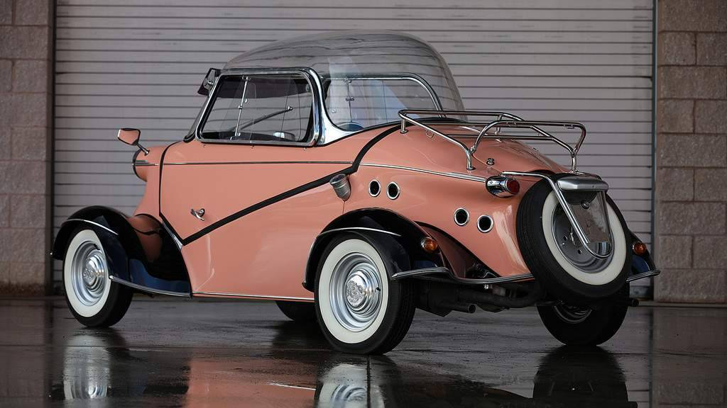 #MicrocarMonday Bubbletopped 1958 FMR Tg500 Tiger