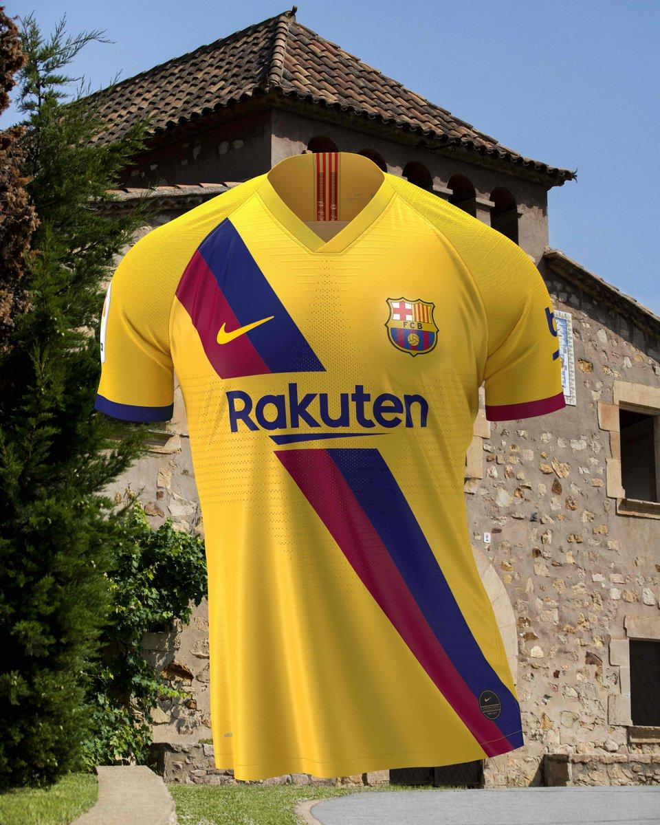 Maillot away du Barça