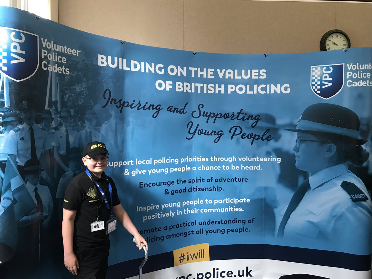 Hi everybody! It's Alex! I'm here and very excited to be part of the @NationalVPC national conference at @gmpolice as a @LincsMiniPolice Wildlife Crime Officer #VPCFUTURE #VPC #MiniPolice #AlexandersJourney #DumSpiroSpero
