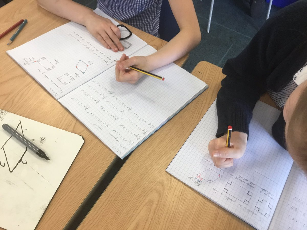 test Twitter Media - Thinking about the properties of quadrilaterals this morning #gorseymaths https://t.co/RzllLd1I8w