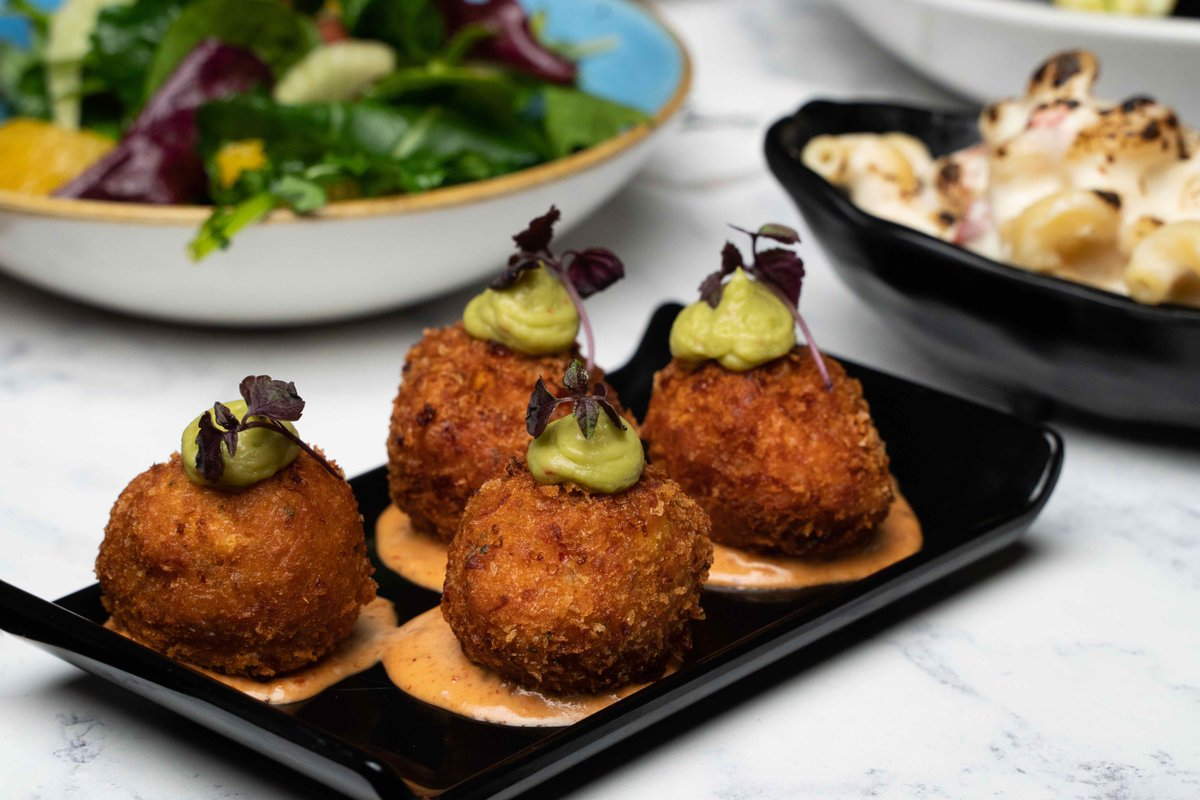 Our Prawn & Lobster Croquettes, making Mondays bearable since '11.