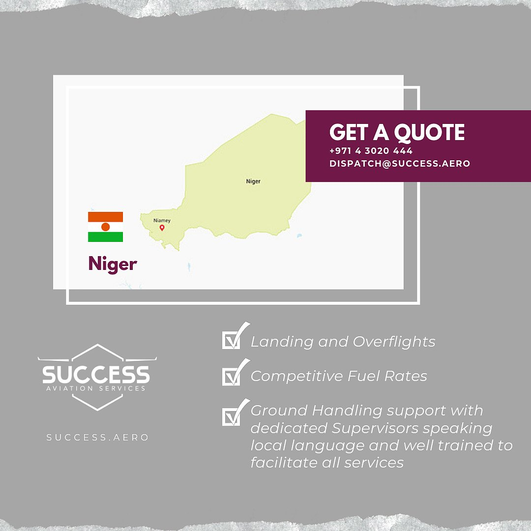 Planning to travel to Niger? Let our trip support experts handle that!   Call us today +971 4 3020 444 or send us an email to dispatch@success.aero so we can help you plan your trip.  #TRIPSUPPORT #FLYSUCCESSAVIATION #SUCCESSAVIATIONSERVICES #VIPSERVICE  (c) Lonely Planet