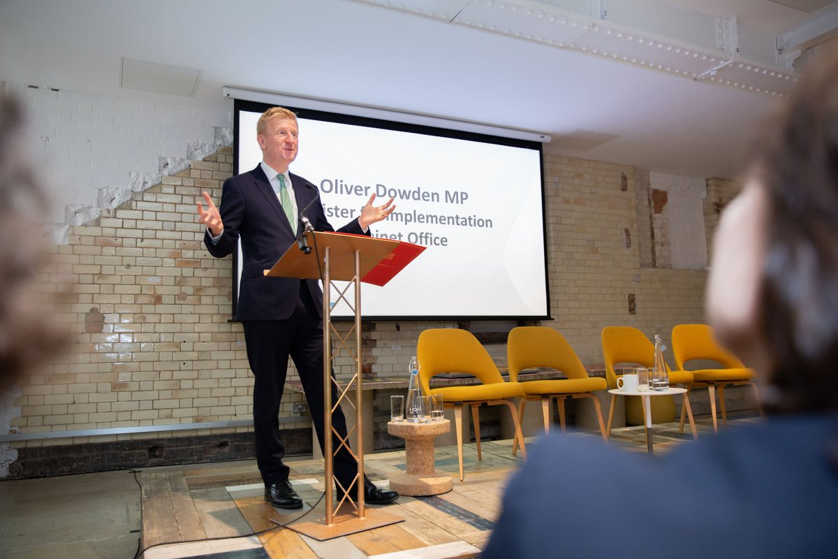 RT @BritProp Oliver Dowden @cabinetofficeuk spoke at the launch of the #HighStreetChallenge on the vital role high streets play at the heart of communities & how this innovative initiative can support their strong & successful future. Find out more & get involved > > https://t.co/ZEE8V8oiui