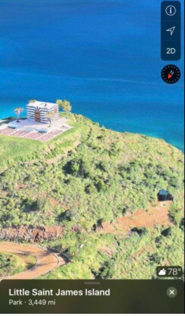 セント ジェームス 島