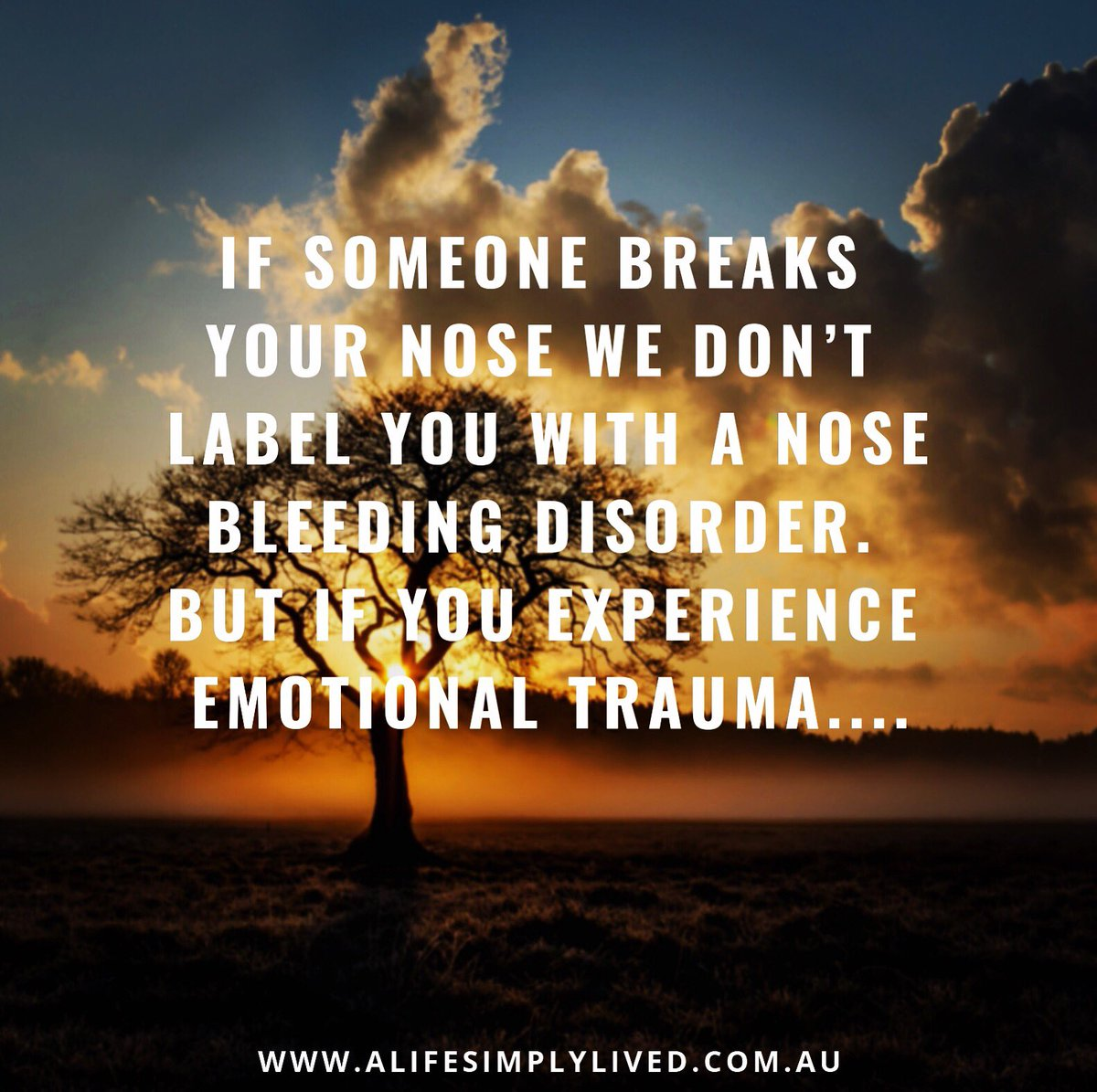"Rather than asking ""what is wrong with you"", we need to ask ""what happened to you?"". #alifesimplylived #ruralpsychology #ruralpsychologist #drnaomimalone #ACT #acceptanceandcommitmenttherapy #trauma #beyonddiagnosticlabels"