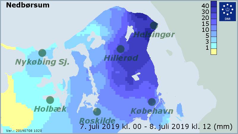 dmi københavn og nordsjælland