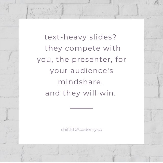 #MondayMusings #textheavyslides #deathbypowerpoint #connectwithyouraudience #audienceengagement #trainers #facilitators #managers #presenters #leaders #teachers #presentationskills #presenting #teaching #slidedecks #training #presentationslides #elevateyourawesomeness https://t.co/qWvqf52Aap