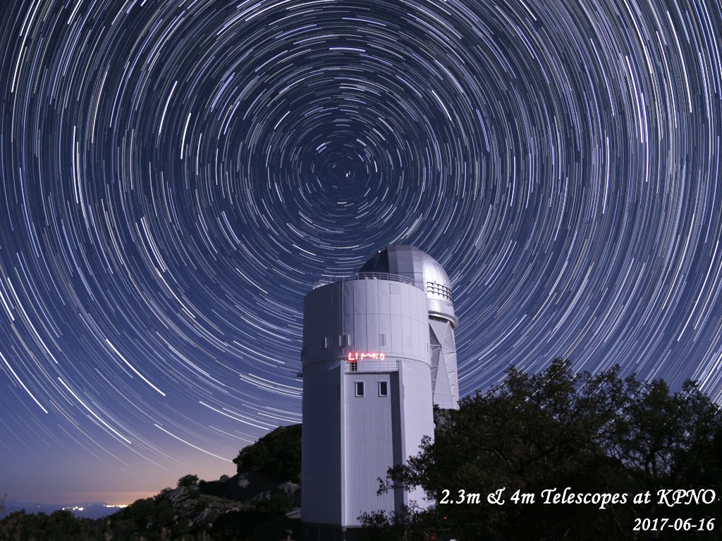 🔭 Sky surveys conducted in Chile and Kitt Peak National Observatory near Tucson, Arizona, help prepare for the startup of @DESIsurvey – DESI will map the universe in 3D and help us learn more about #darkenergy. Full story 👉🏽bit.ly/SkySurveys #KPNO @LBNLphysics
