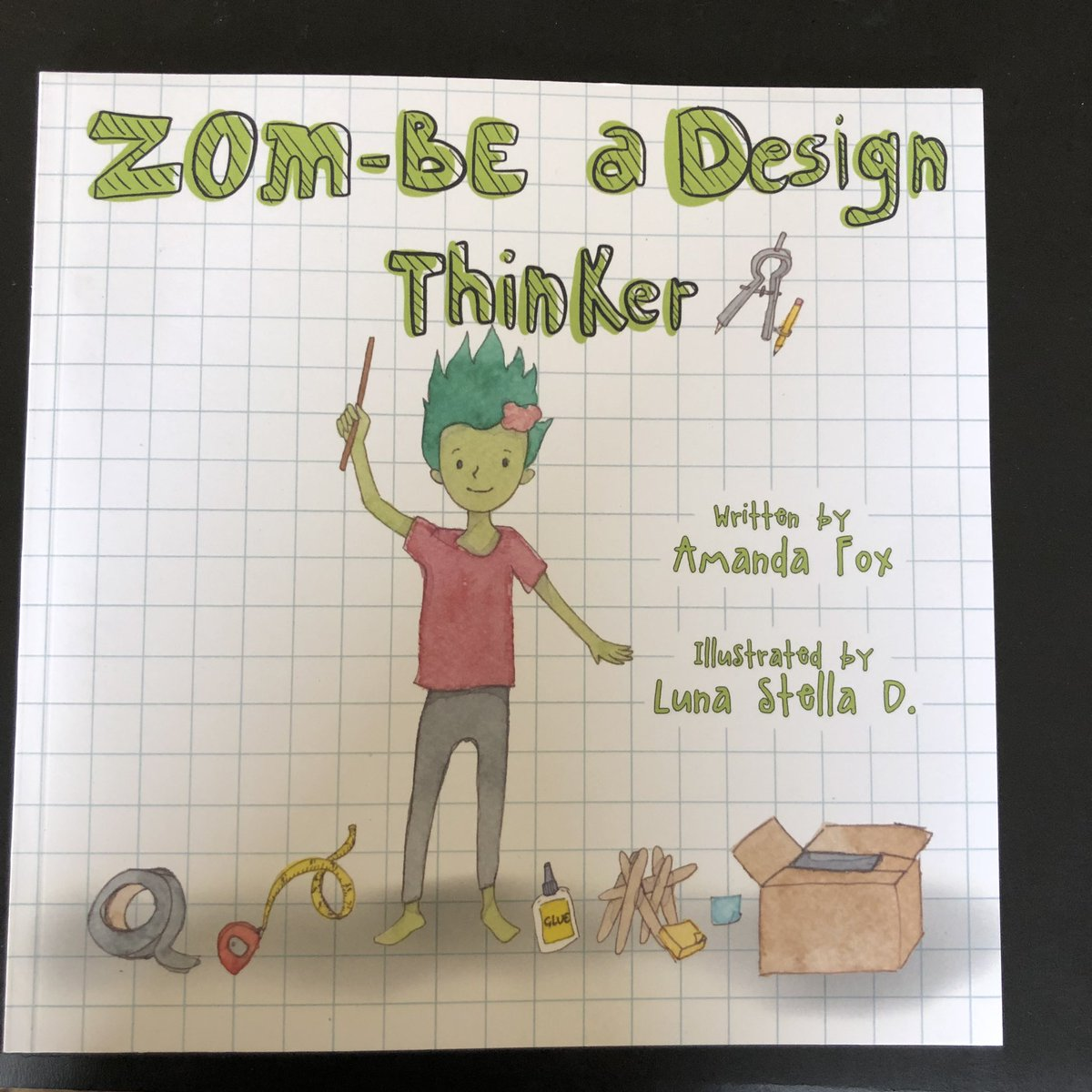 @Zip_the_ZomBe @AmandaFoxSTEM my book came today! I'm excited to dive in and learn.