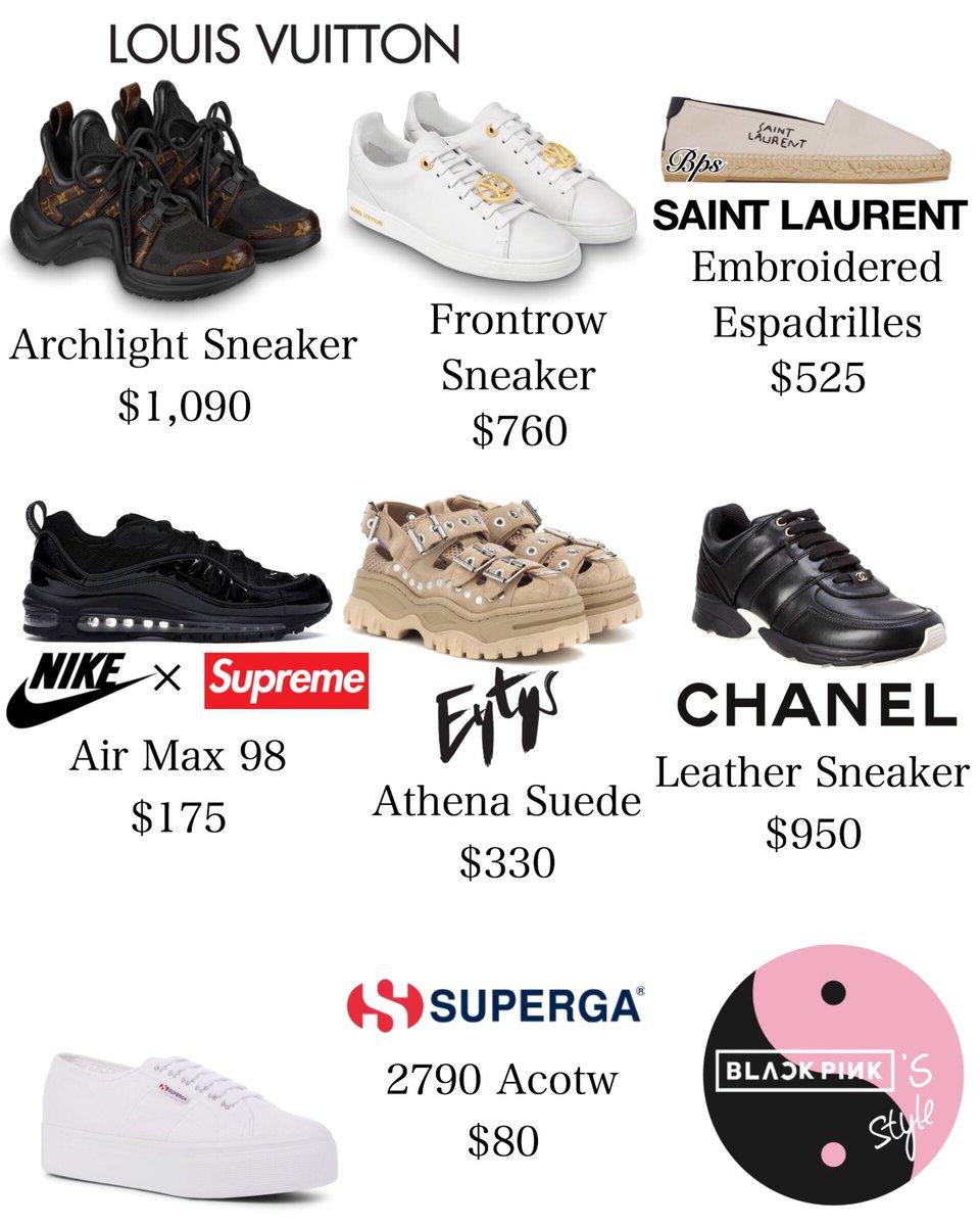 blackpink sneaker