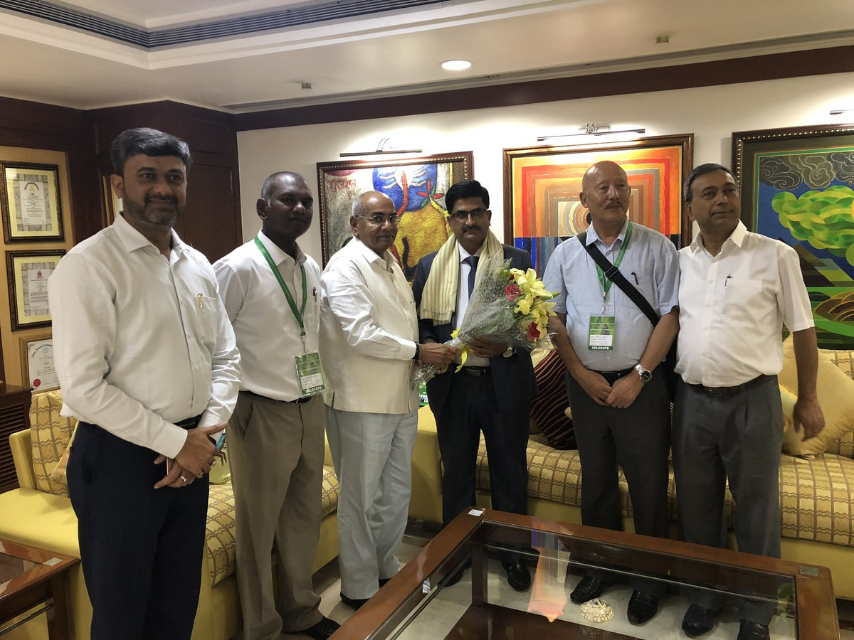 Today, Welcomed Shri Lok Nath Sharma, Minister Of #Agriculture, Government Of #Sikkim with his team on his visit to #IFFCO Head Office. A detailed presentation was given to him and various matters related to #SikkimIFFCO @sifco_ltd were discussed by the team. @mukul_smukul