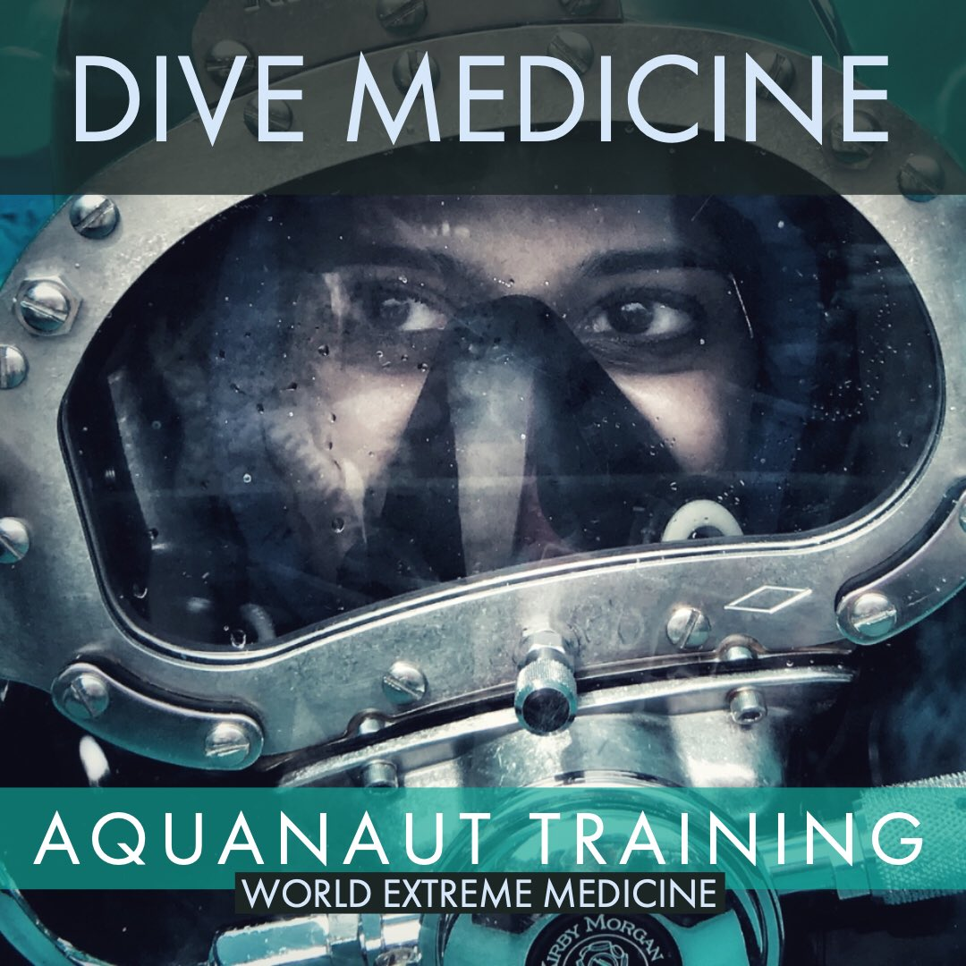 'Perhaps the world's best Dive Medicine course'.  Become a DiveMedTech & Honorary #Aquanaut on @ReefBase   2020 Dates just released. Limited Space. Book now.  https://worldextrememedicine.com/products/courses/ocean-medicine/neemo-aquarius-dive/…  #dive #medicine #extreme