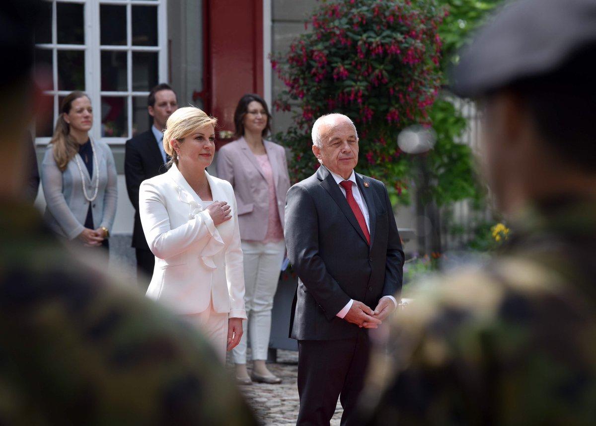 Predsjednica Kolinda Grabar-Kitarović u službenom posjetu Švicarskoj D-9CoxUXsAALiVY