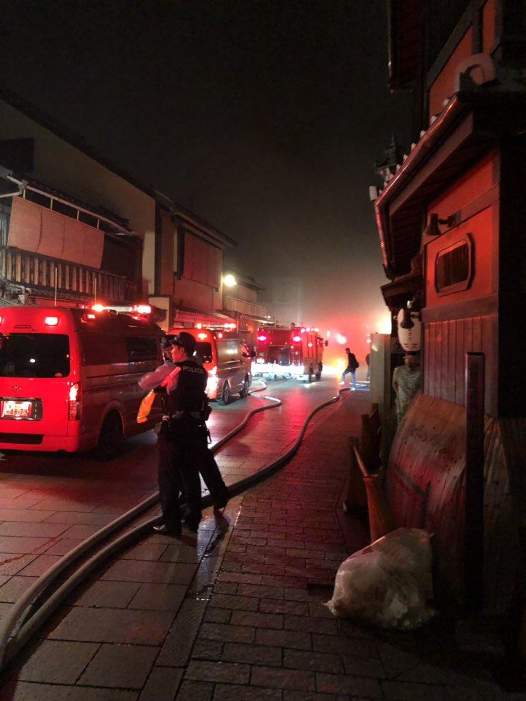 画像,京都祇園花見小路がえらいことに https://t.co/1Vb0dvW3GD。