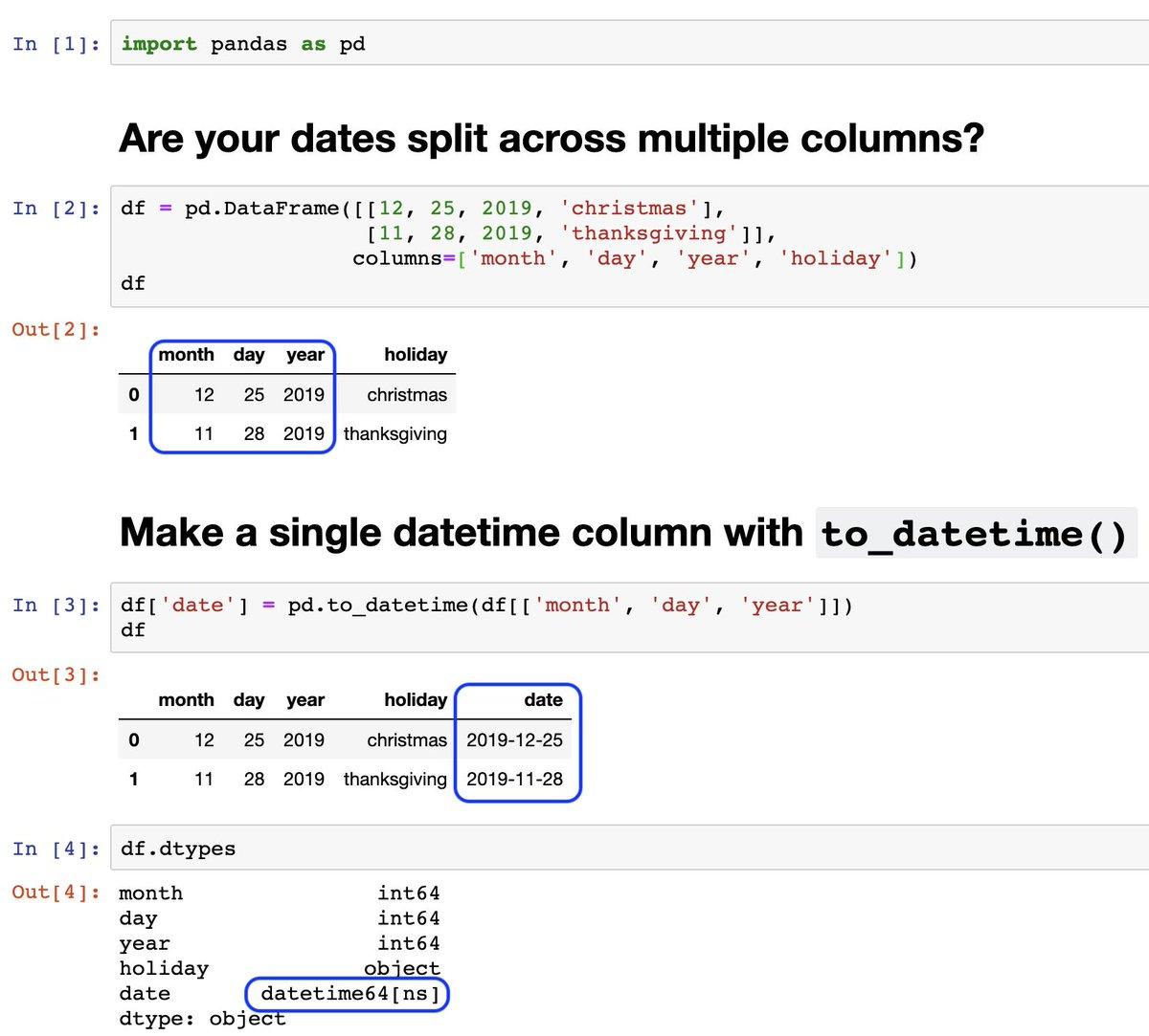 Python Pandas Timestamp To Datetime