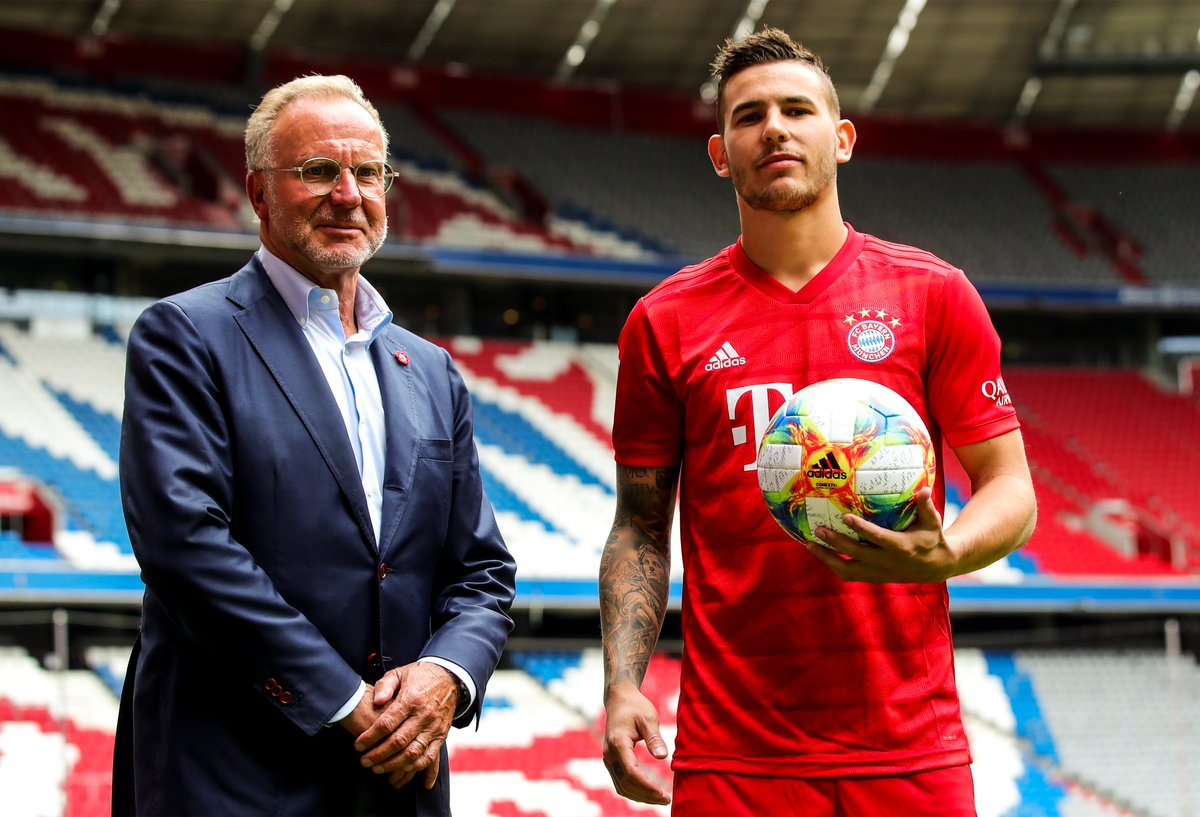 Image result for bayern munich lucas hernandez unveiling