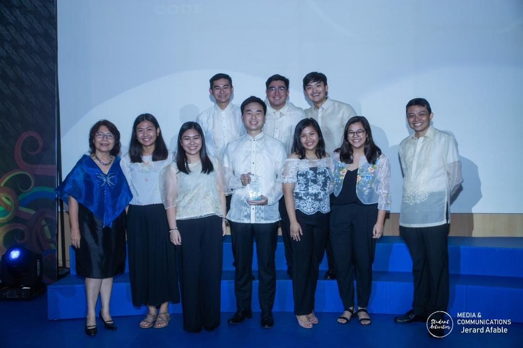 Ateneo honors @AteneoCODE as one of the SOAR Model Student Organizations for 2019!  Full Story: https://t.co/J3n4SnLbRX  Read our blog: https://t.co/czpwsdjLY2 https://t.co/NOFsg7EaDk
