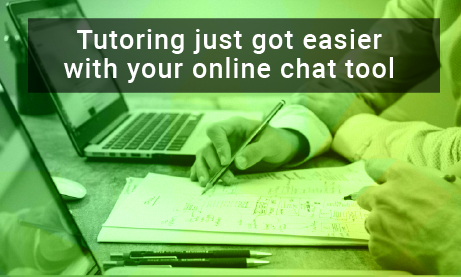 Online #tutoring just got easier with your online chat tool https://buff.ly/2LaQJVK  #onlinechat #edchat #education