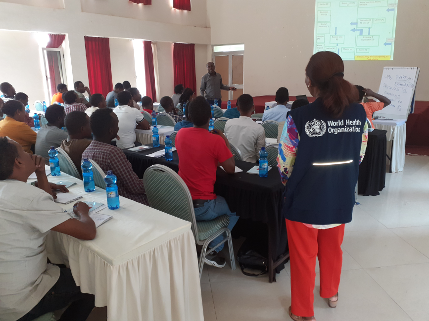 WHO trained 87 health workers from West Hararghe zone