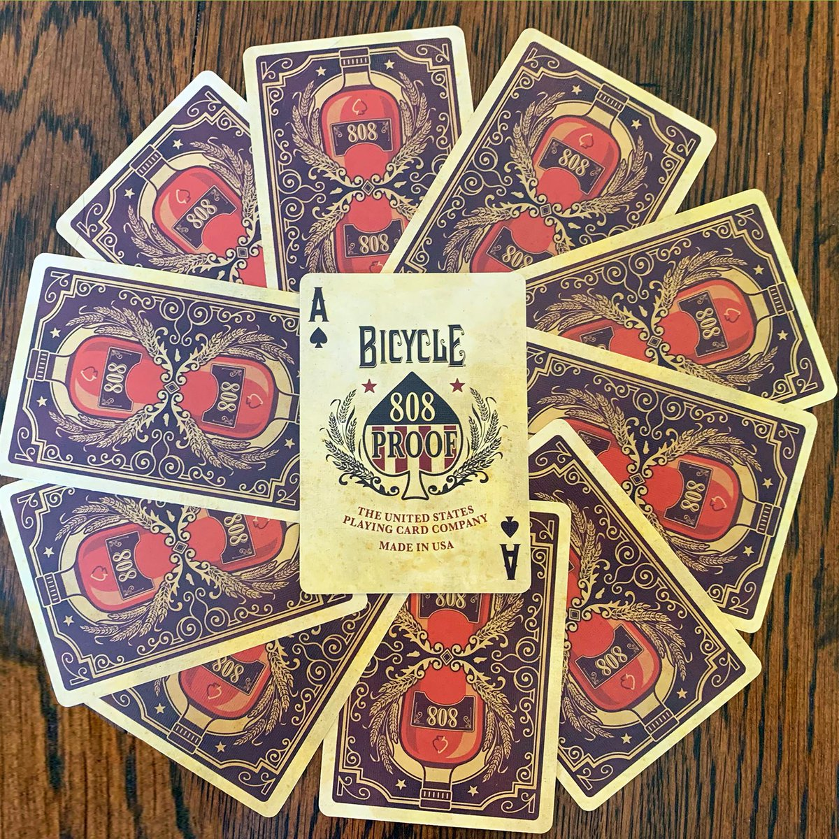 Bourbon Playing Cards Carte Bicycle