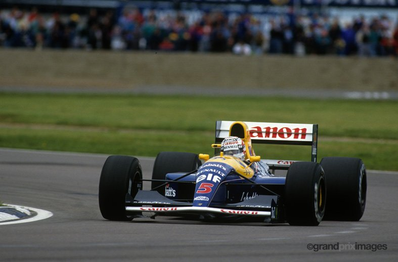 #BritishGP Silverstone, England - 1991  © John Townsend/@grandpriximages