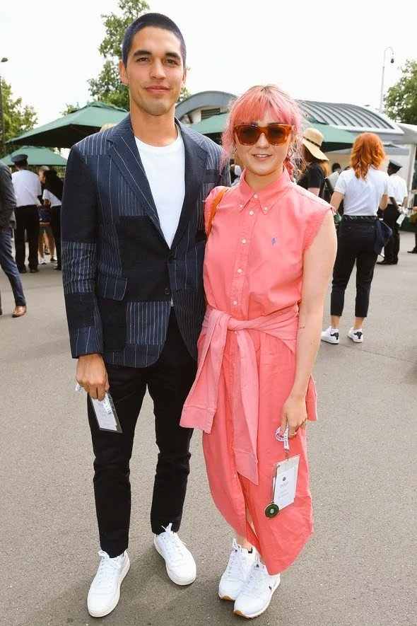 Maisie Williams at #Wimbledon at the POLO @RalphLauren event 🙌🏻