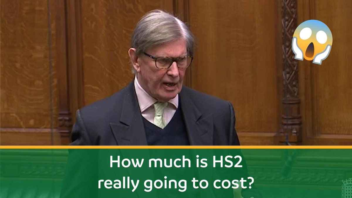 HS2 is now forecast to cost around £65 billion according to the latest government figures (the estimate will inevitable increase again!) 😱 @BillCashMP explains the true cost of this vanity project! #StopHS2