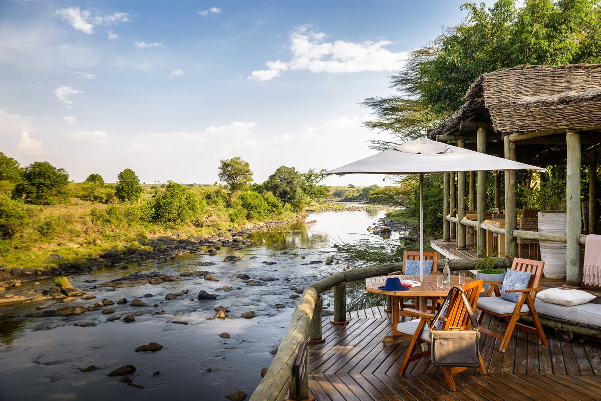 Breakfast with a view in Kenya #swaindestinations #africa #kenya #wildlife #travel #adventuretravel #luxurytravel #instatravel #travelgram #insidertravel