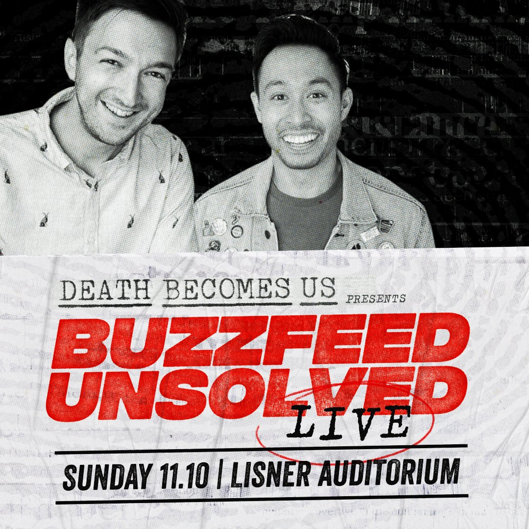 Join us Nov. 8-10 in D.C. for another round of macabre delight with #DeathBecomesUs!  Tickets for:  ▪️#BuzzfeedUnsolved Live ▪️The #HomicideHunter Retirement Party  go on sale Wed. at 10am — plus a few ALL-ACCESS passes are still available.   👉 http://deathbecomesus.com 👈