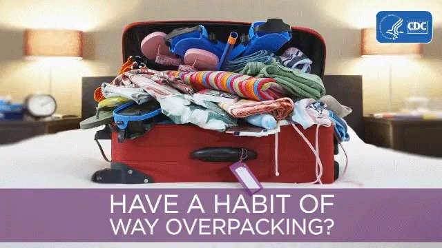 Image for the Tweet beginning: Pack smart for summer travel.