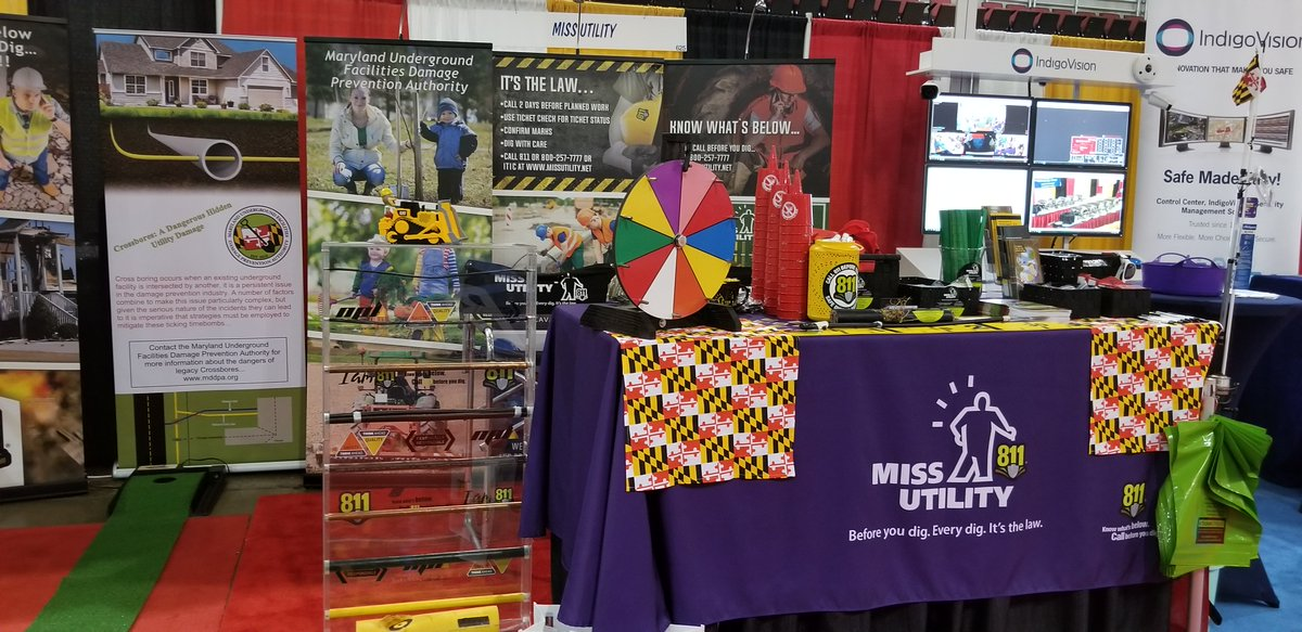 Miss Utility On Twitter Miss Utility Represented By Dora Parks Brad Ebaugh And Ricky Lewis Shared The 811 Message With Maryland S 157 Local Government Municipalities During June 23 25 A Great Conference And Miss utility is your partner when it comes to safe digging! twitter