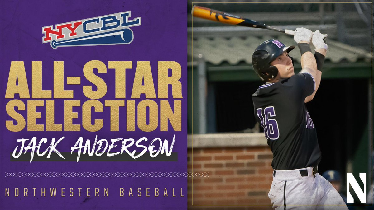 After posting a .366 clip with 14 RBI in the first half, @jacksa13 was named a @NYCBLbaseball All-Star ⭐️⚾️ Hell be in action tonight at Yogi Berra Stadium. First pitch is at 6 p.m. CT. #GoCats