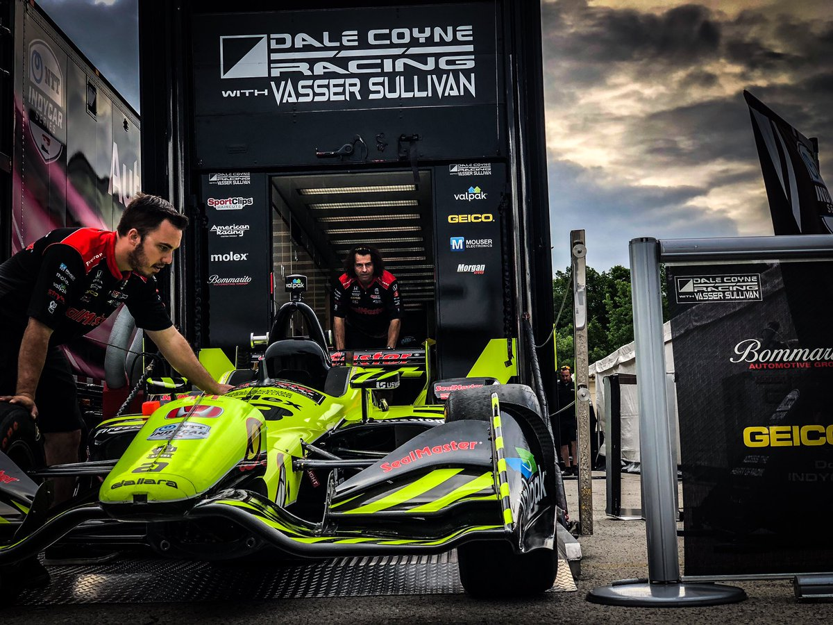 Time to get back to business. #RaceWeek #IndyTO
