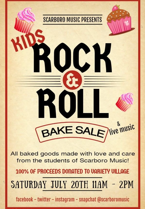 S A V E  T H E  D A T E Kids #RockNRoll #BakeSale - #livemusic with #JayMoonah, #BlakeLittle & #LucasLewis Saturday July 20th 11am to 2pm 100% of proceeds going to our friends @Variety_Ontario  Please share this with your #family #friends & #neighbours.  #wearemusic #toronto<br>http://pic.twitter.com/3sncaijwBR