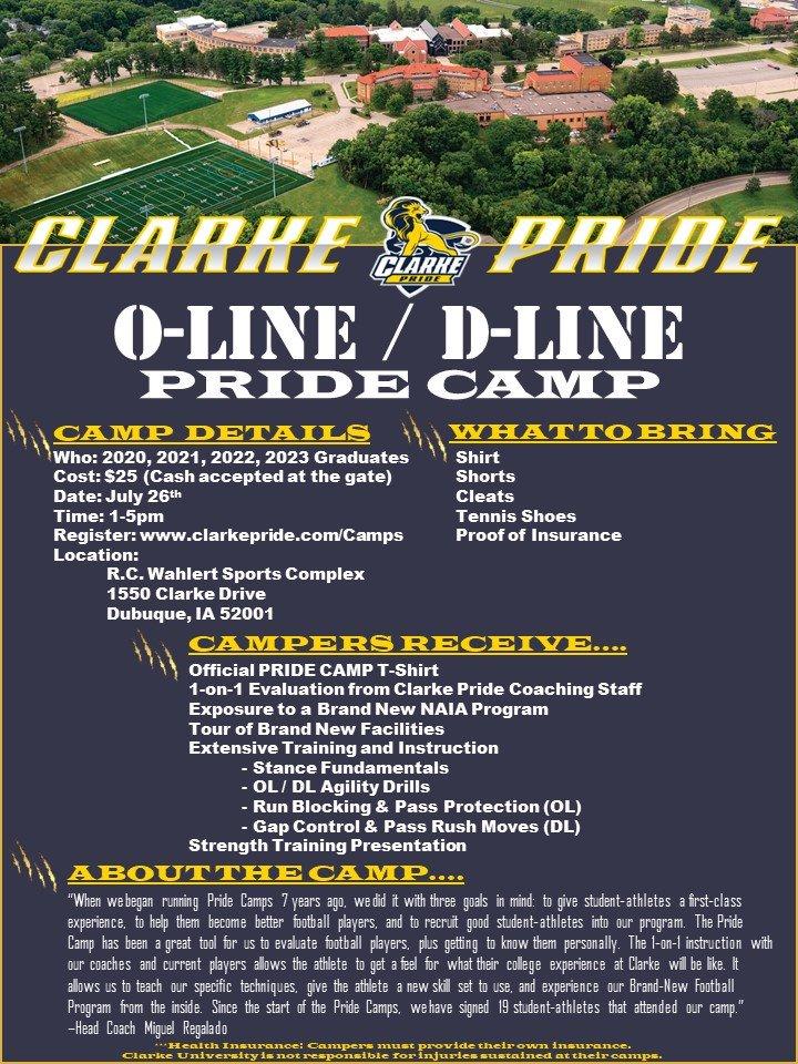 Social Media Posts for Clarke University