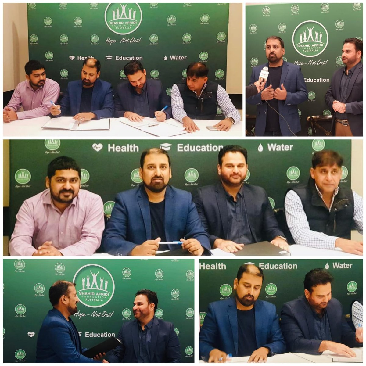 SAF Australia established a strategic partnership with Sydney Cricket League to promote SAF causes among its multi-cultural cricket community & to generate funds from various avenues for SAF Projects.The MOU was signed by @atifsyed_2000 Country Director, SAF Australia #SAFCares