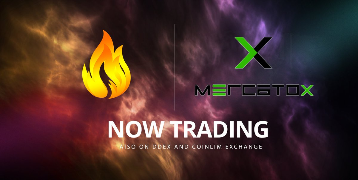 We are delighted to announce that $BURN has listed on Mercatox.  Deposits and Withdrawals now open with both Btc and Eth Market.    https://mercatox.com/exchange/BURN/BTC… https://mercatox.com/exchange/BURN/ETH…  #ETH #BTC #TRADE #EXCHANGE #BITCOIN #BURN https://t.me/blockburn