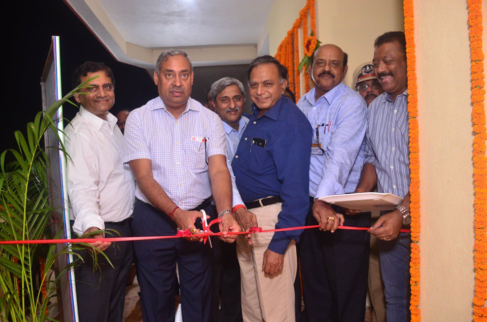 Shri  Anil Kumar Jha, Chairman, CIL inaugurated the transit